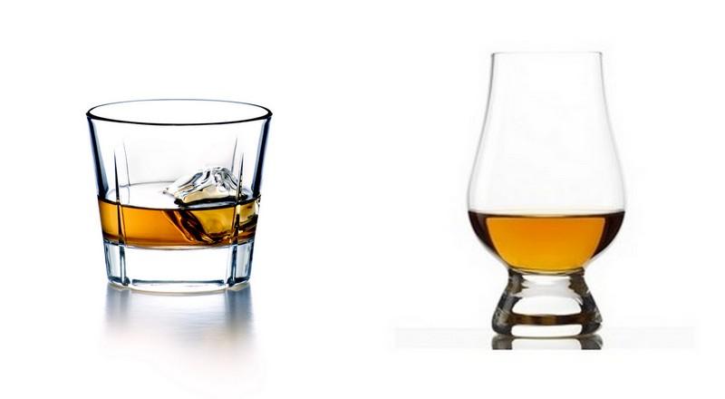 The Glencarin whisky glass
