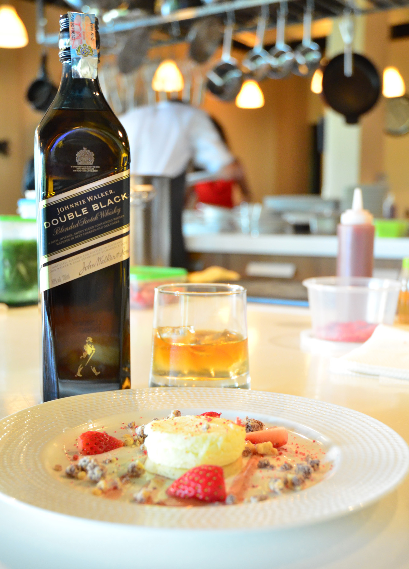 Baked Cheesecake with Johnnie Walker
