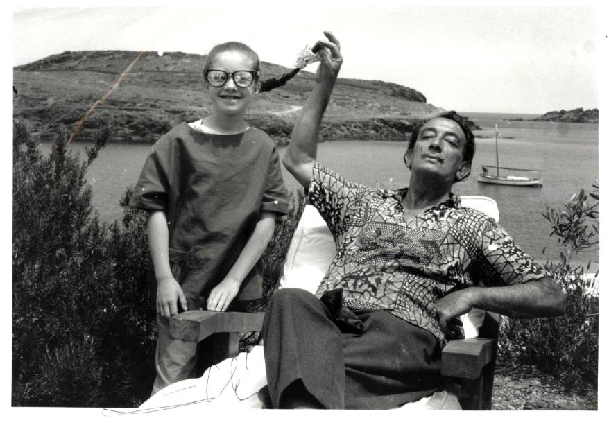 Dali with Christine Argillet 2