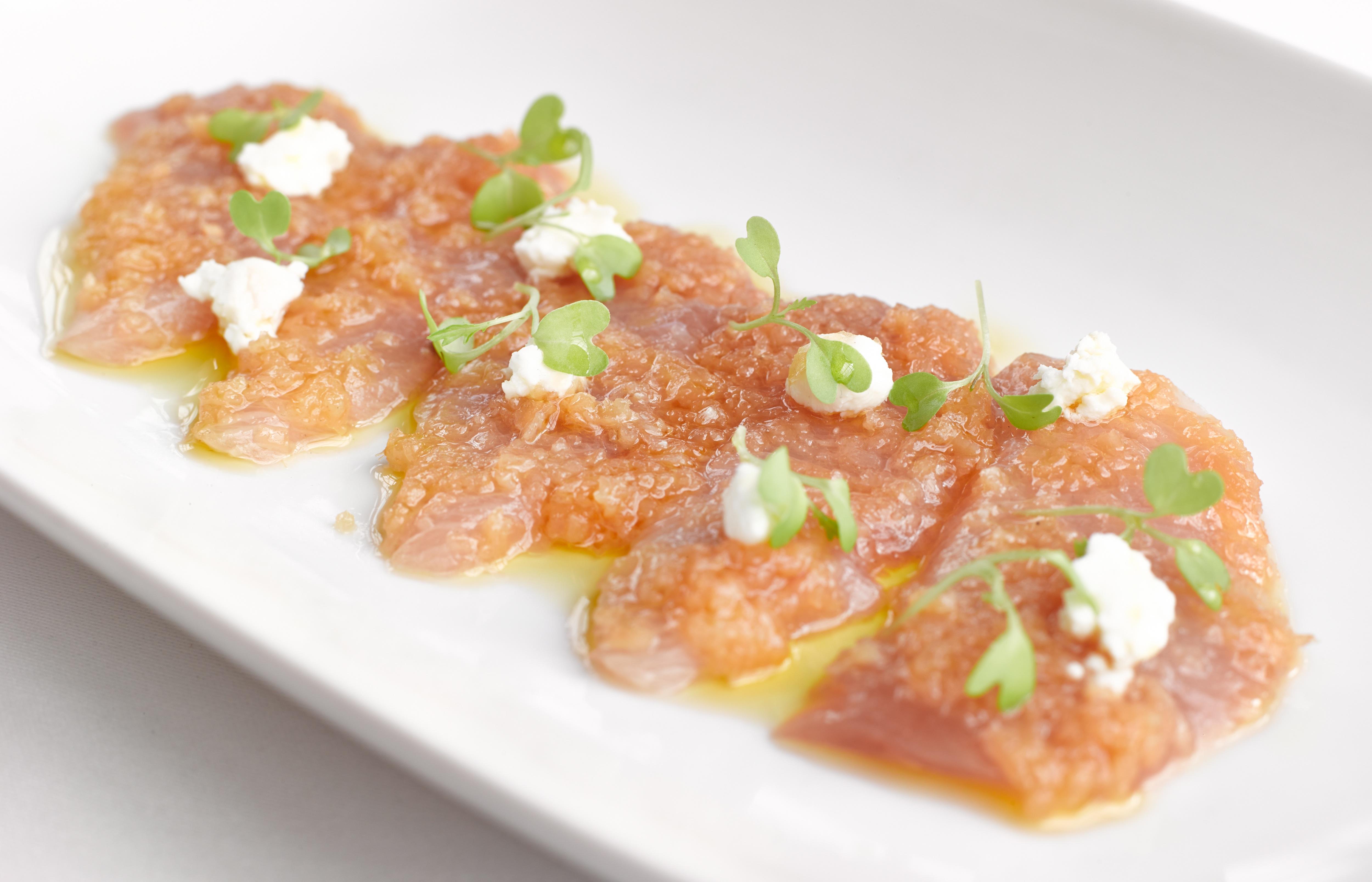 how to prepare kingfish sashimi
