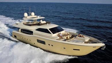 "Sail like an emperor on the ""Tai He Ban"" Ferretti Altura 840"