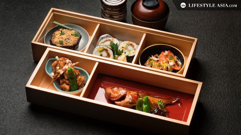 taste mikuni 39 s new bento and business set lunch menus lifestyleasia singapore. Black Bedroom Furniture Sets. Home Design Ideas