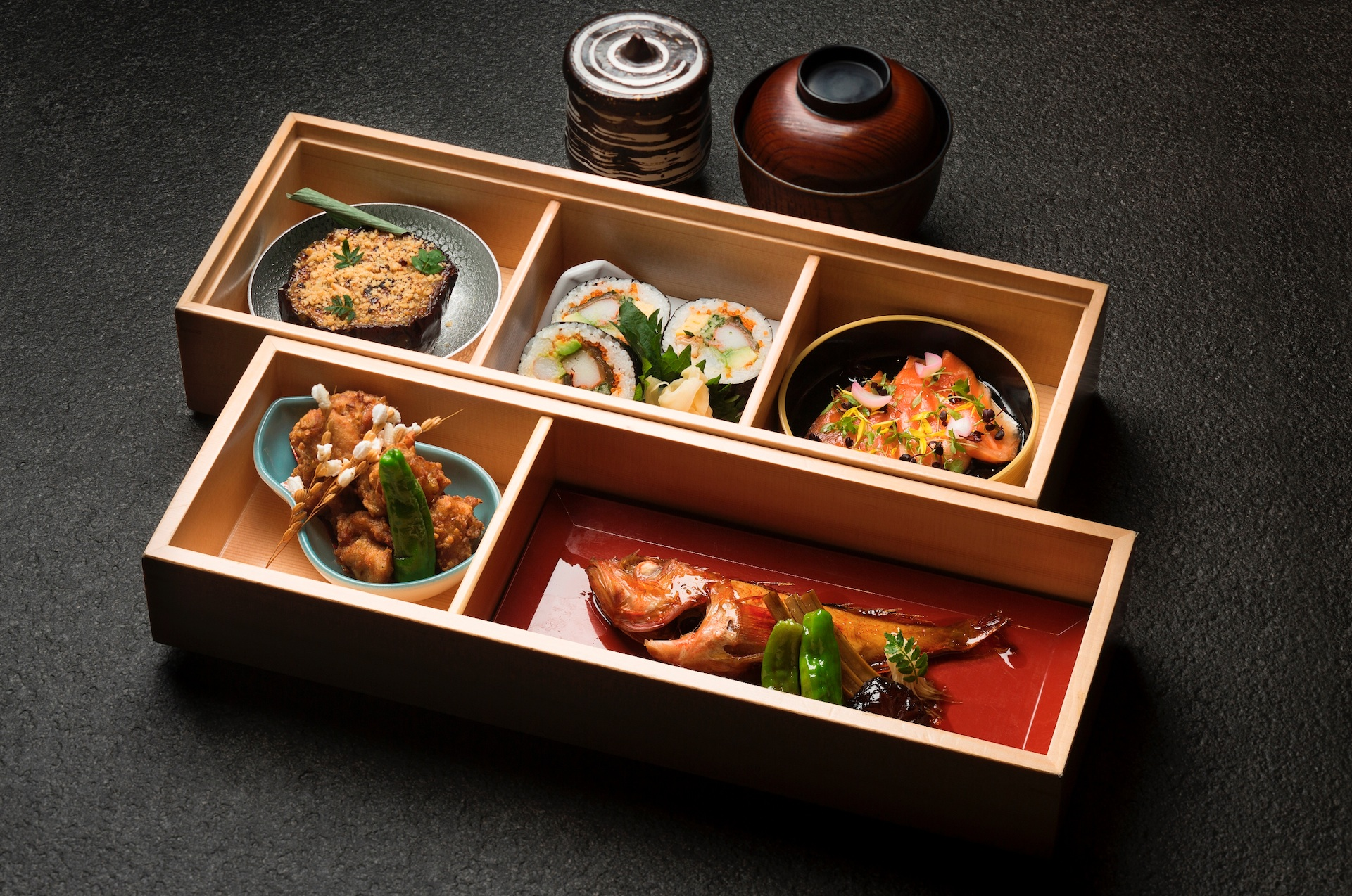 taste mikuni 39 s new bento and business set lunch menus lifestyleasia singapore. Black Bedroom Furniture Sets. Home Design Ideas