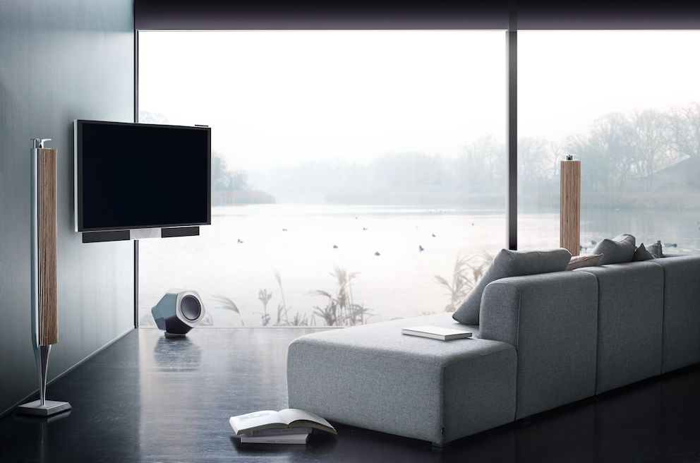 BeoVision Avant features a unique surround sound system, allowing for a  holistic audible experience. Bang & Olufsen ...