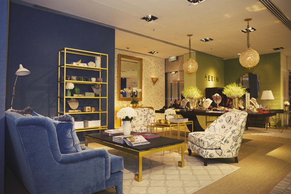 The World Of Aerin At Lane Crawford Is Curated From The Worlds Of Beauty Fashion And Home D Cor