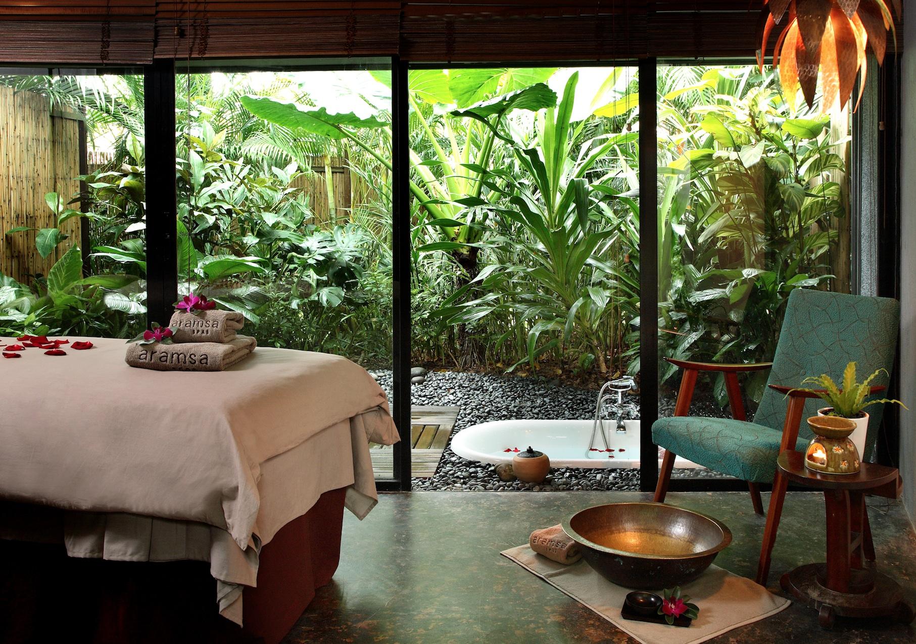 Review call of india treatment at aramsa garden spa for Garden salon