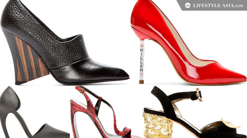 outrageous shoes high heel related keywords suggestions