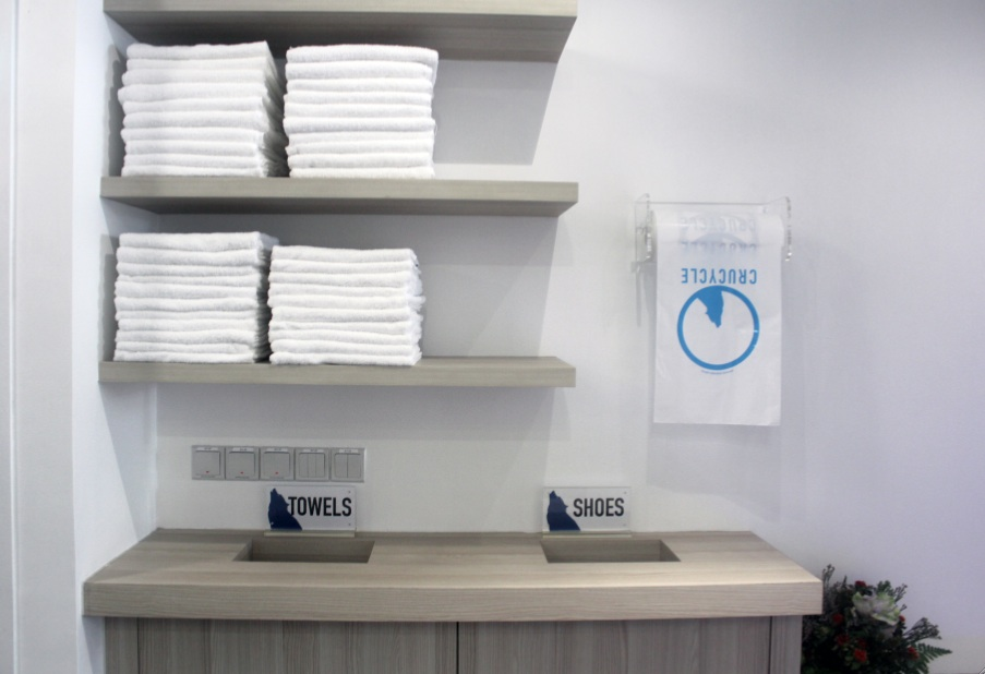 Beautiful Gym towel Rack