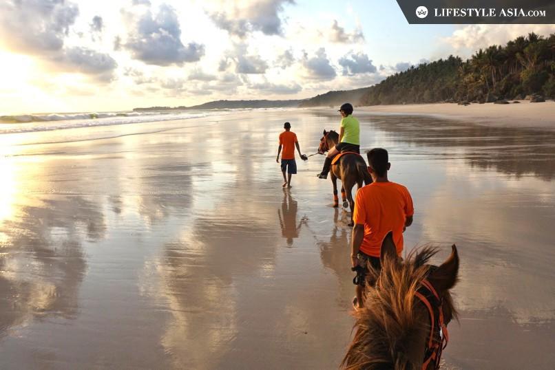 Nihiwatu Sunset Horse Riding