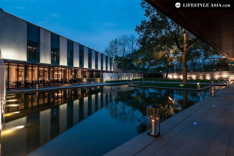 Hangzhou Pinos de la Brume destaque imagem