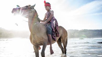 Nihiwatu Young Boy on Horse