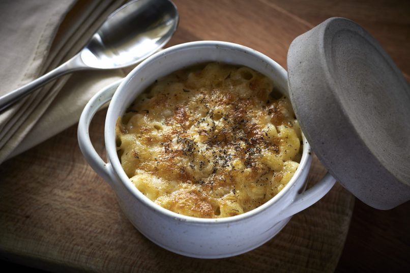 Worth the wait: Tom Aikens relaunches The Pawn - mac and cheese
