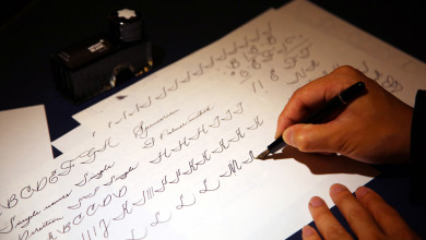 Montblanc art of writing master class
