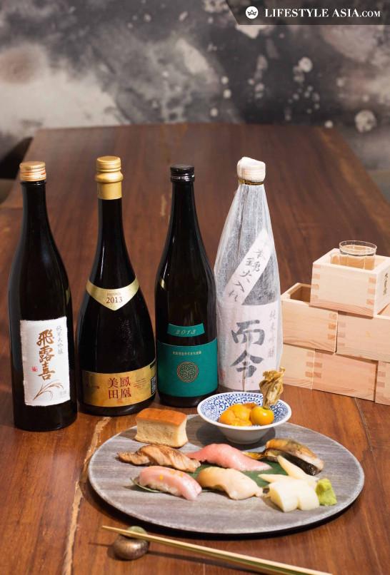 New eats - Kishoku Sake Pairing