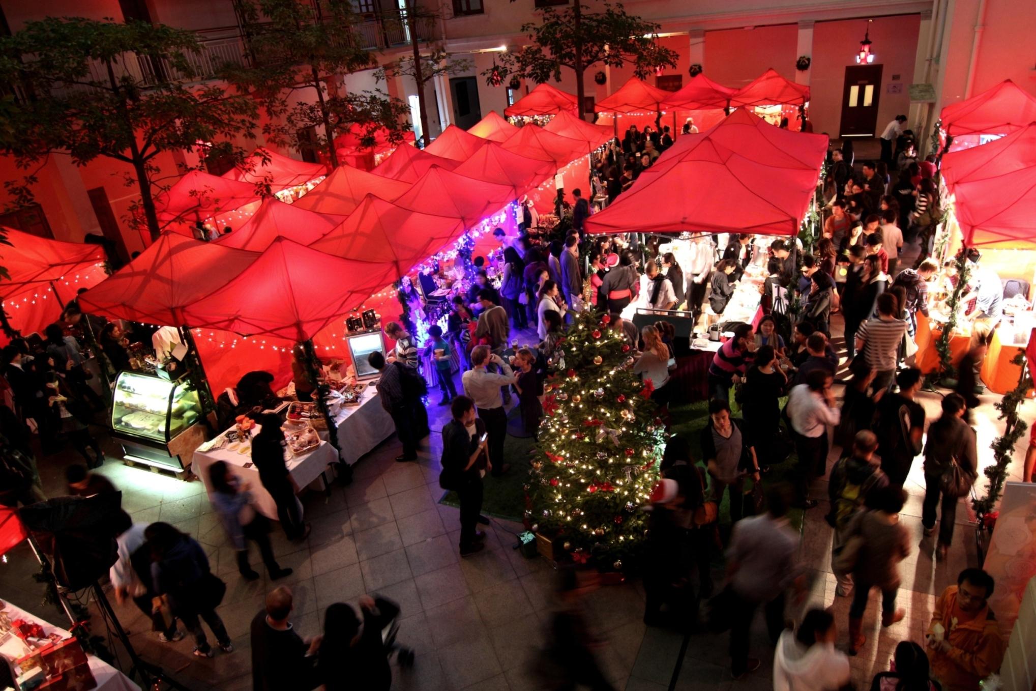 christmas market hong kong