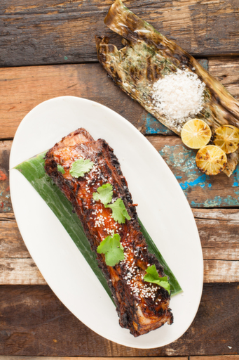 The 24-hour charred beef ribs was the unanimous favourite.