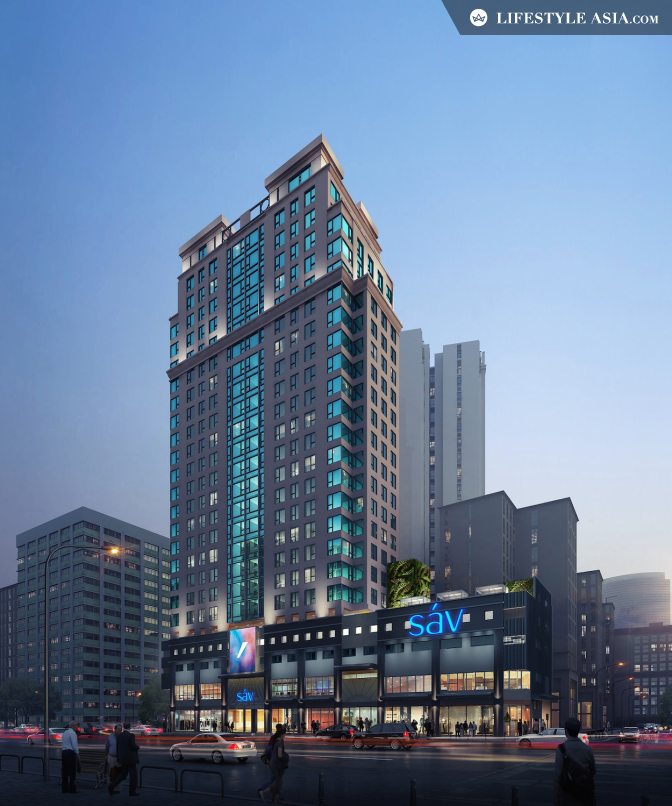 New hotel: Hotel sáv brings colour to Hung Hom - hotel exterior