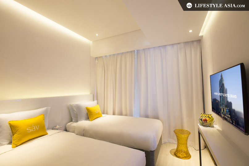 New hotel: Hotel sáv brings colour to Hung Hom - yellow room