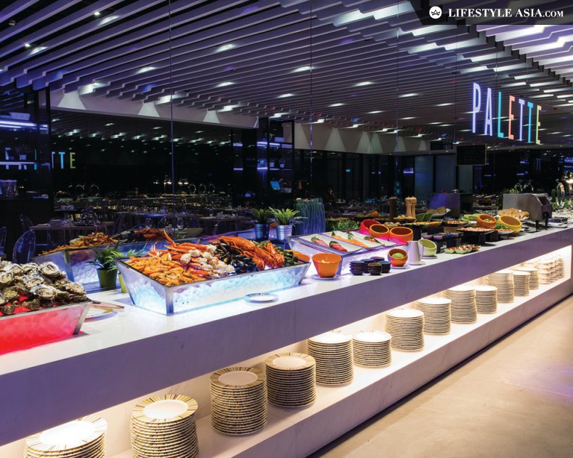 New hotel: Hotel sáv brings colour to Hung Hom - Palette buffet