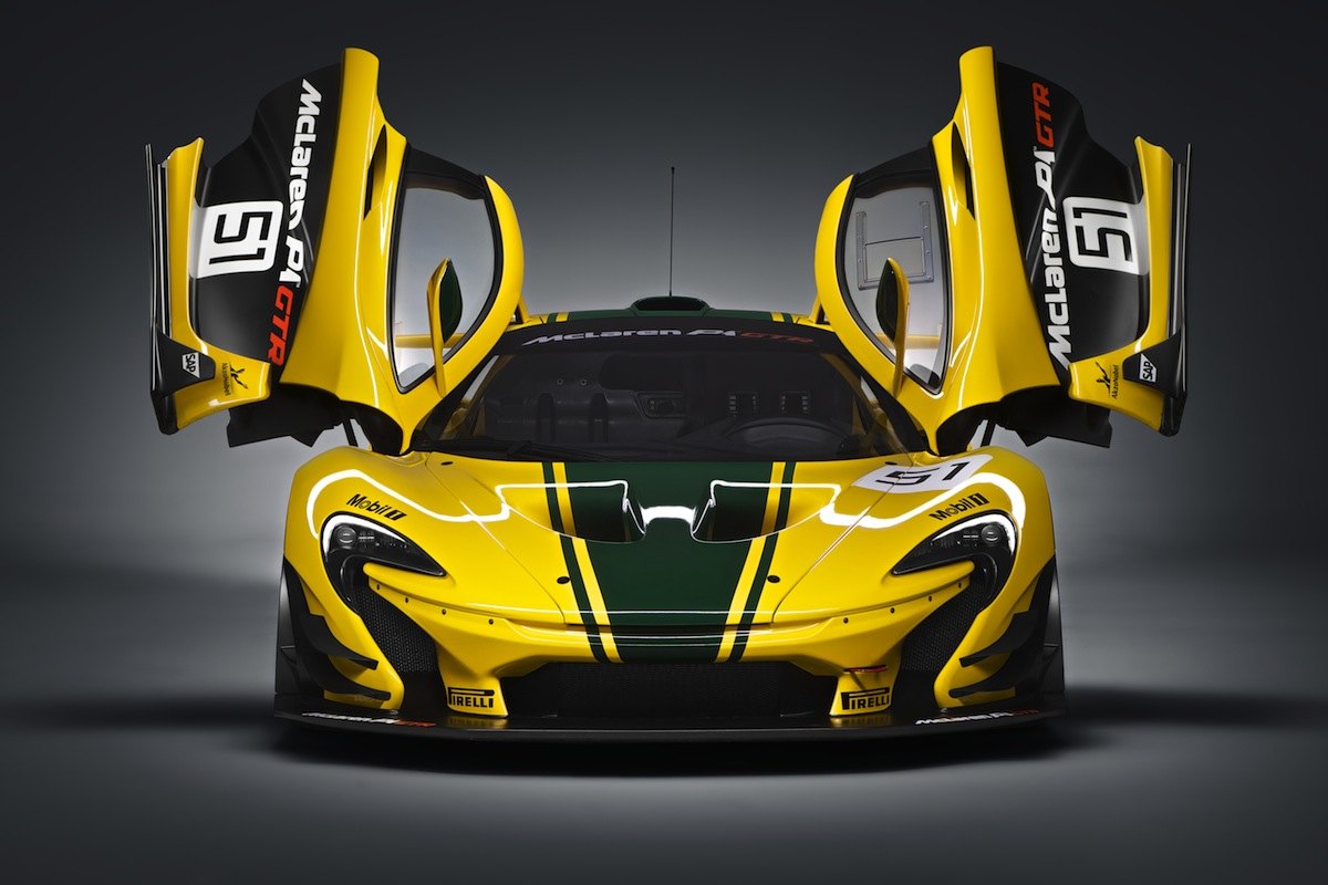 Right on track: The new McLaren P1 GTR - LifestyleAsia Kuala Lumpur