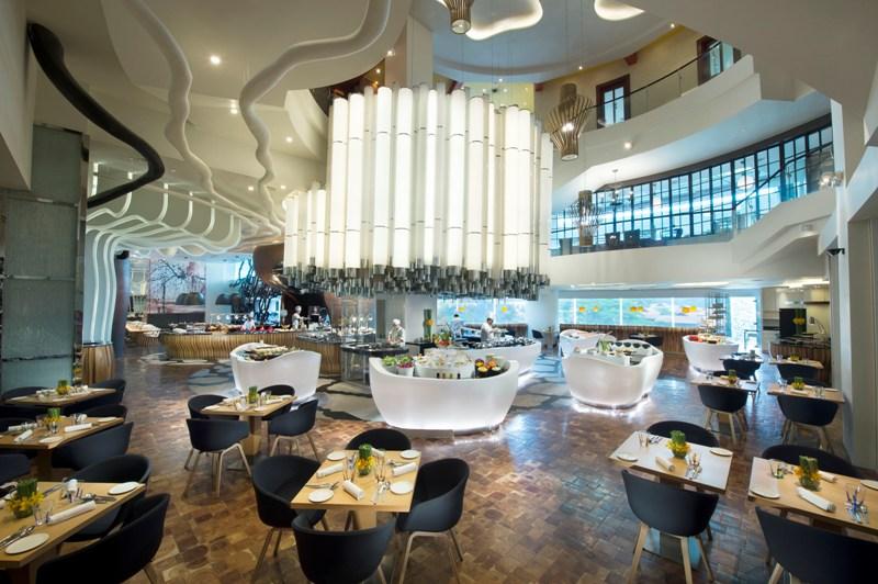 Vascos modern interior Hilton Kuala Lumpur