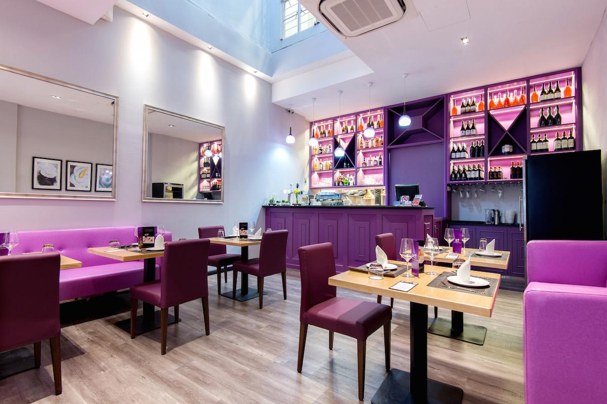 violet herbs main dining floor 28 seats - Violet Cafe 2015