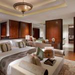 Master bedroom at Banyan Tree Macau's presidential suite