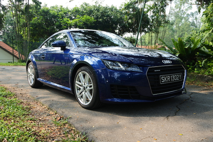 A Weekend With The Audi TT Coupé In Singapore Lifestyle Asia - Audi tt coupe
