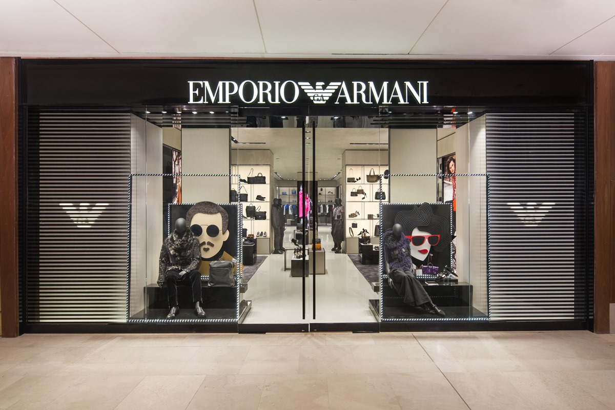 emporio armani opens its doors at the gardens lifestyle