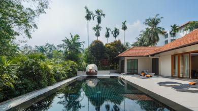 Feature Villa du Jardin Swimming Pool-Day View