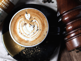 Coffe Ac Pepper Agave Latte feature