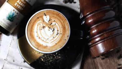 Coffe Ac Pepper Agave Latte feature