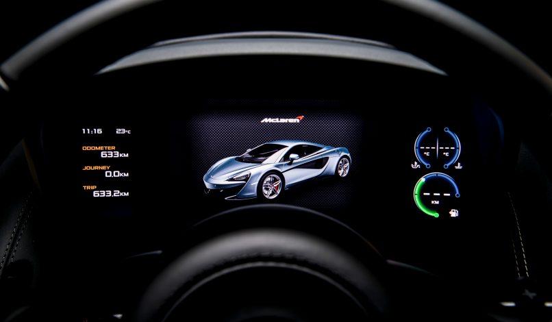 McLaren 570S - Display panel