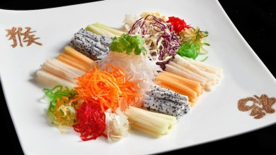 MOKL Lai Po Heen Assorted Vegetables and Shredded Fruits in Sesame Dressing copy