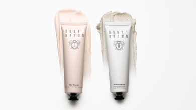 Easy and travel-friendly: the new Bobbi Brown Face Masks.