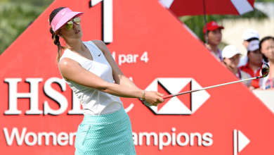 Michelle Wie HSBC Women's Champions - Day One