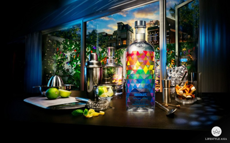 The new Absolut Mix is a must-have for those who appreciate art and a good drink.