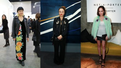 Spotted: Best dressed ladies at Hong Kong Art Week 2016