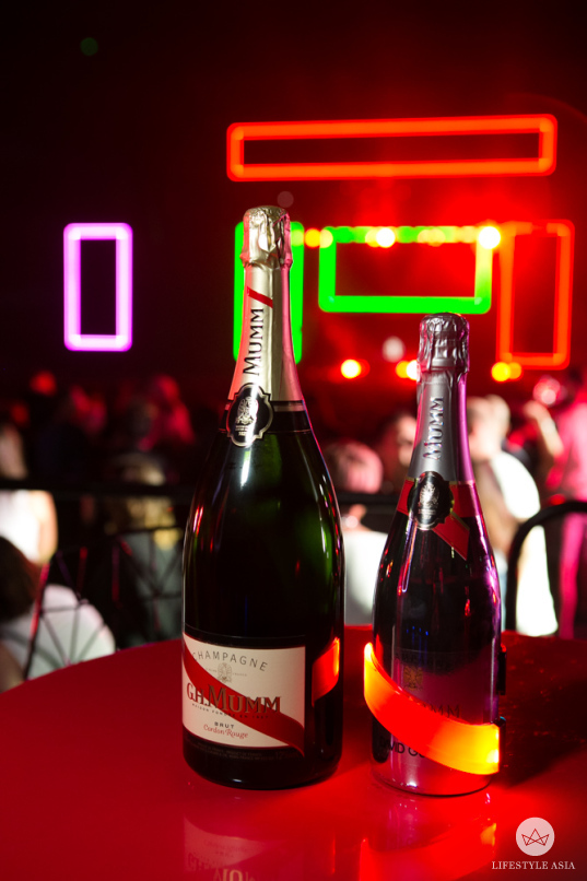 Champagne on demand: G.H. Mumm at Art Central