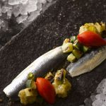 Esquina tapas feature image Sardines with Samfaina copy