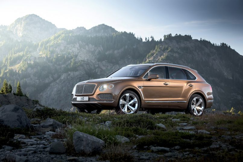 A pioneering design for an adventurous Bentley lifestyle.