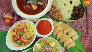 Awaken your appetite with scrumptious signature cuisines from the celebrated kampong boys