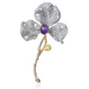 Summer Floral Brooch