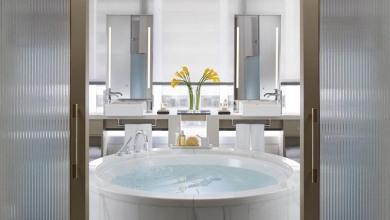LMHKG Redesigned L900 Landmark Suite Bathroom - Landscape feature