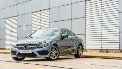 Mercedes-Benz C 200 Coupe-feat pic