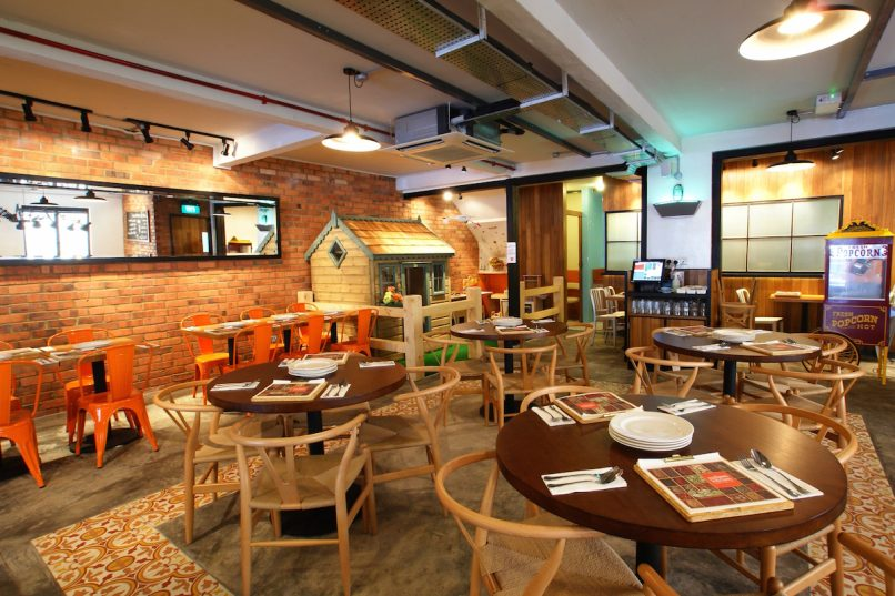 The art of meal restaurant design takes centre stage