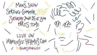 Livestream: Hermes SS17 Menswear