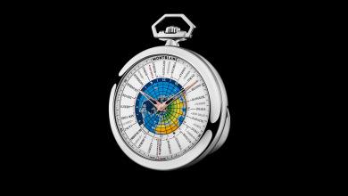 Montblanc Worldtimer pocketwatch