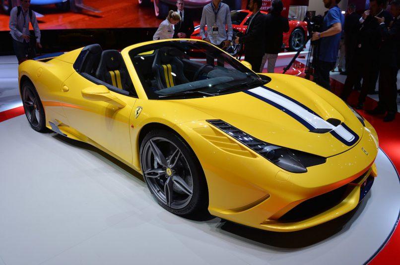 The Ferrari 458 Speciale A Aperta