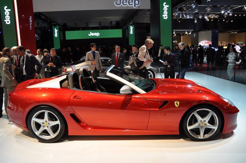 The Ferrari 599 Aperta
